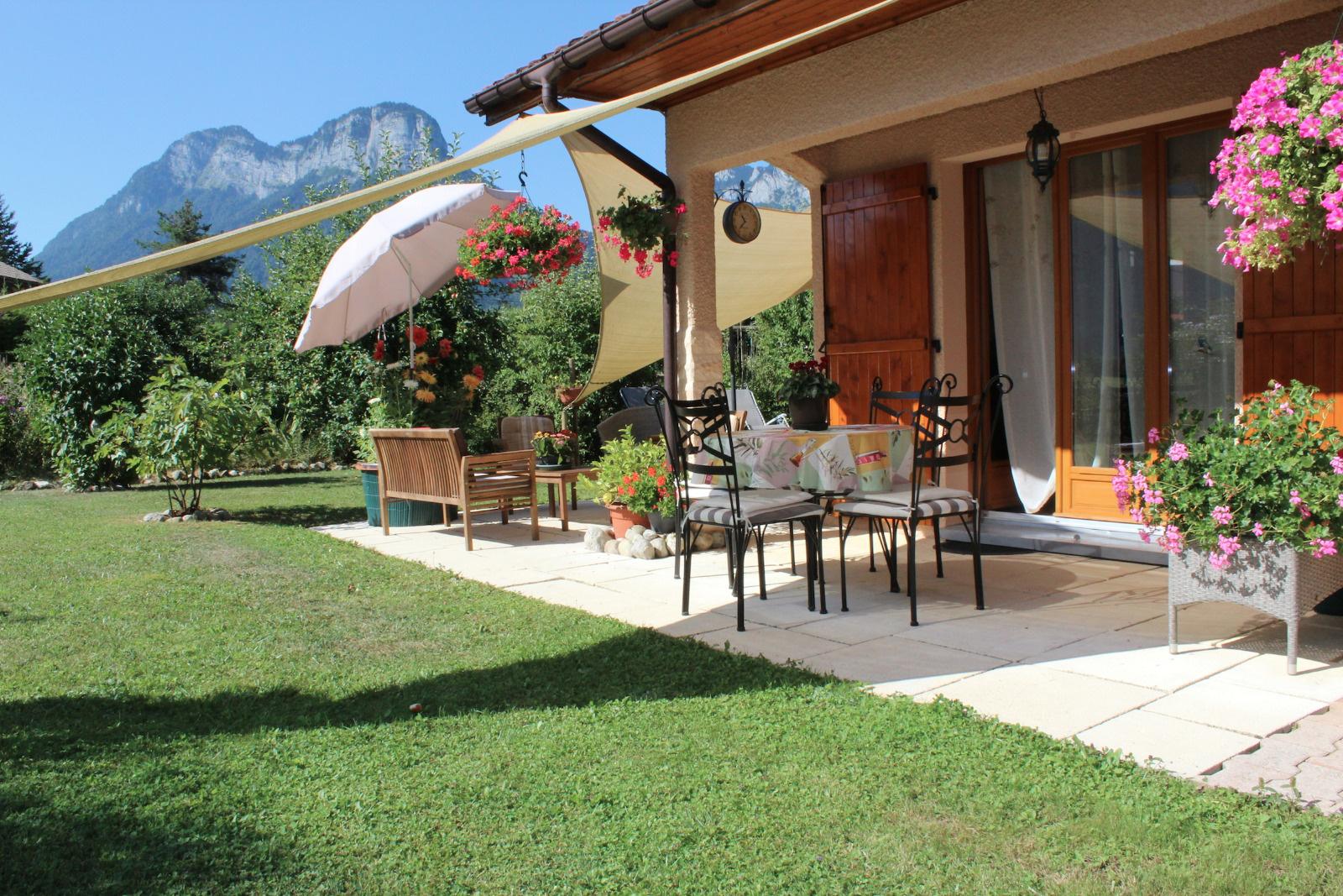 Vente a vendre exclusivit verthier doussard villa de for Terrain doussard