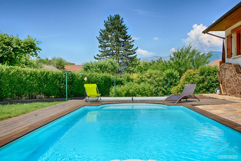 Vente a vendre saint jorioz belle villa individuelle 3 for Prix piscine chauffee